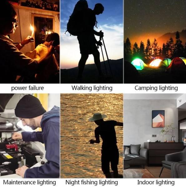 Bilde av Foldbar Campinglykt