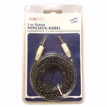 AUX-kabel 3meter - Flere farger
