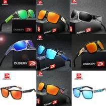 Dubery- Polariserte Solbriller- 26 Ulike Briller