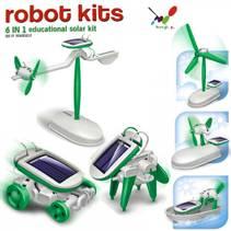 Solcelle robot sett 6i1