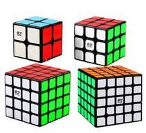 Rubiks kube-sett 4 Kuber- High Speed