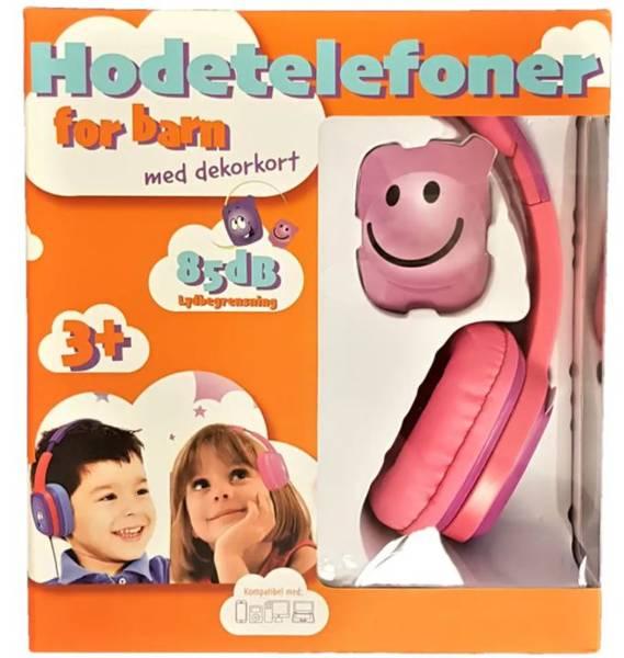 Bilde av Hodetelefoner For Barn Blå/Rosa