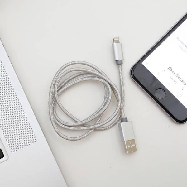 Bilde av Ladekabel 2i1 iPhobe & Micro USB'