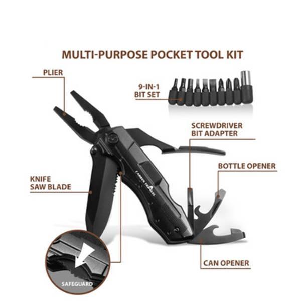 Kraftig Lommekniv/multiverktøy