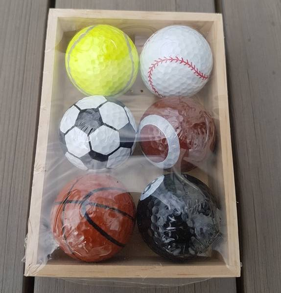 Bilde av 6pk Golfballer I Gaveboks
