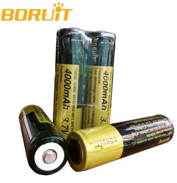 Bilde av Boruit 18650- 3.7v Oppladbart Batteri