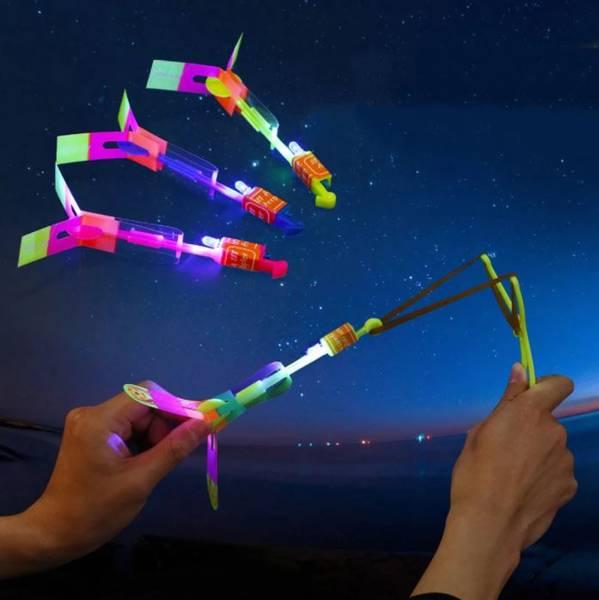 Bilde av LED Strikkhelikopter