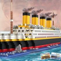 Titanic Nanoblock Byggesett- 1860deler