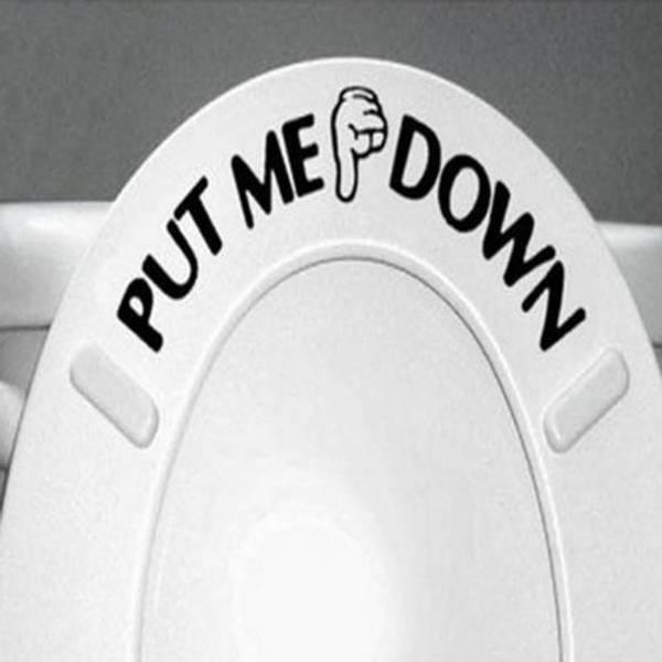 Bilde av Put me down- Wallsticker