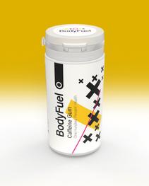 BodyFuel Caffeine Chewing Gum 30g