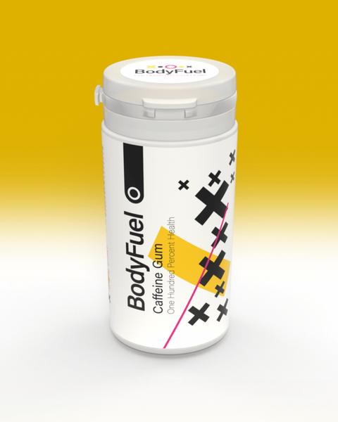 Bilde av BodyFuel Caffeine Chewing Gum 30g