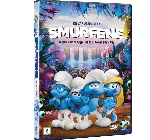 Brannmann Sam / Smurfene DVD