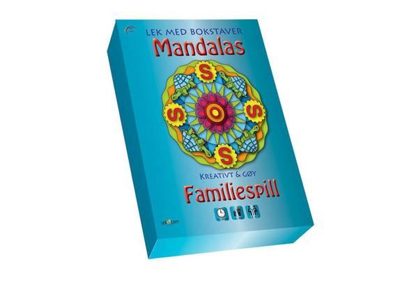 Bilde av Mandalas familiespill - Lek med tall/bokstaver'
