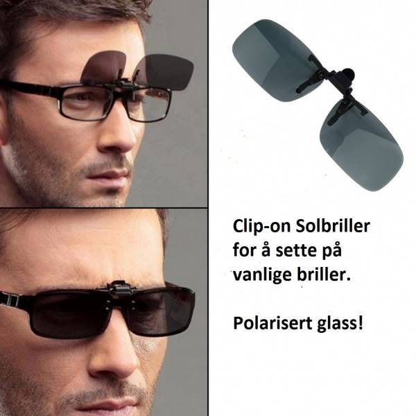 Bilde av Clip-on Solbriller- Polarisert!