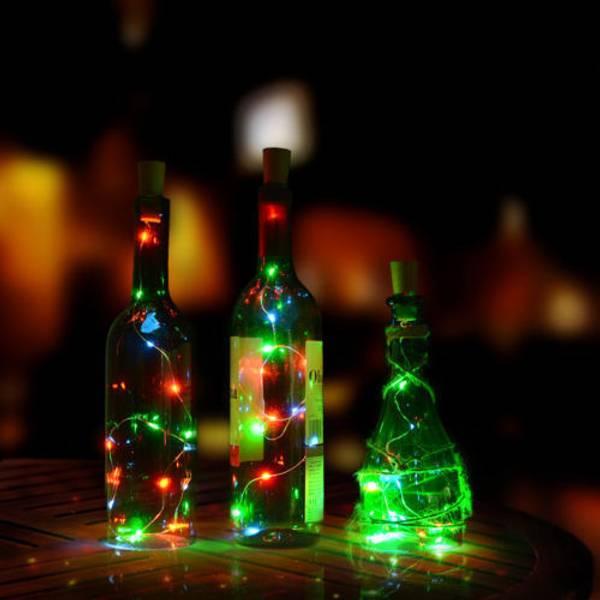 Bilde av Flaskelys 20 Led Lys