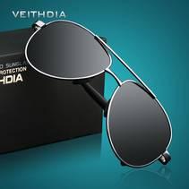Polariserte Solbriller Med Etui- Flere Farger