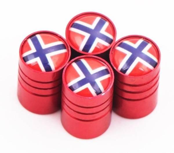 Bilde av 4stk Ventilhetter- Norge - Flere Farger