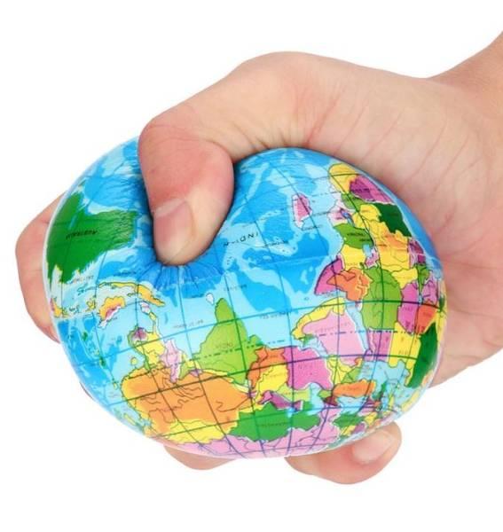 Bilde av Stressball- Globus