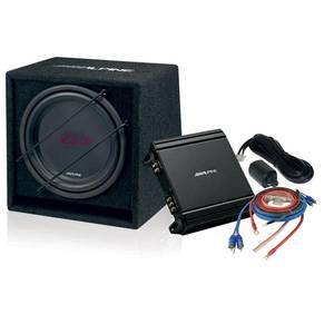 "Bilde av Alpine SBG-30KIT basspakke 800W 12"" i kasse"