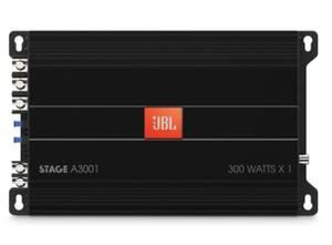 Bilde av JBL Bilforsterker 1 x 300W STAGE 1-kanals 2 Ohm