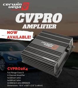 Bilde av Cerwin Vega CVPRO2K4 PRO series 2400W 4-kanals