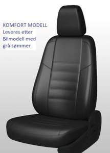 Bilde av Ford Transit Custom 2013-> Setetrekk i Skinn 1+2