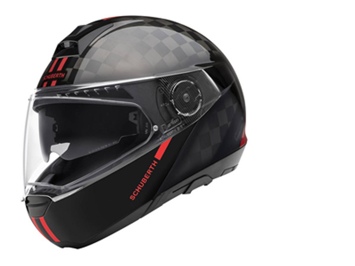Schuberth C4 Pro Carbon, fusion red