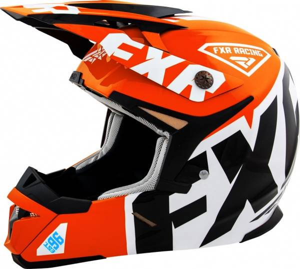 Bilde av FXR X1 Youth Helmet, orange