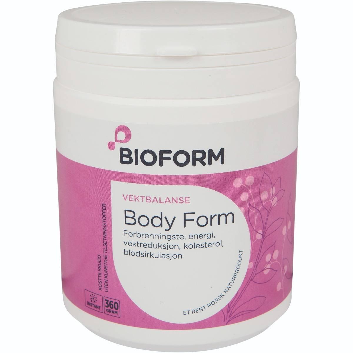 Bioform® Body Form Örtdryck, 360 g