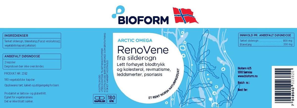 Bioform® Renovene (180 kapslar)