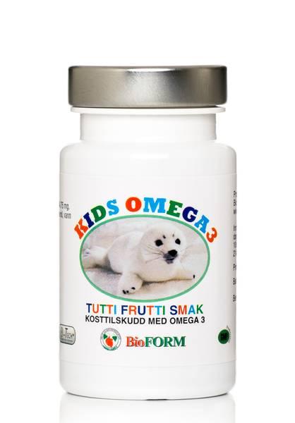 Bilde av Bioform® Kids Omega -3 (60 kapsler)