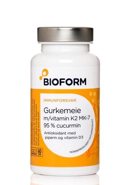 Bilde av Bioform® Gurkmeja (m/vitamin K2 och D3)