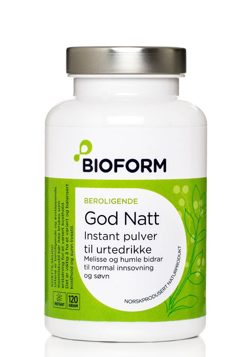 Bioform® God Natt Örtdryck