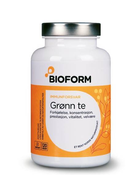 Bilde av Bioform® Grönt te 120 g