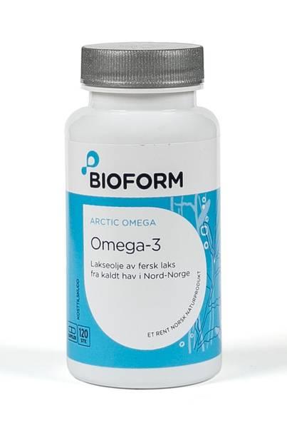 Bilde av Bioform® Omega -3 (nordnorsk lakseolje)