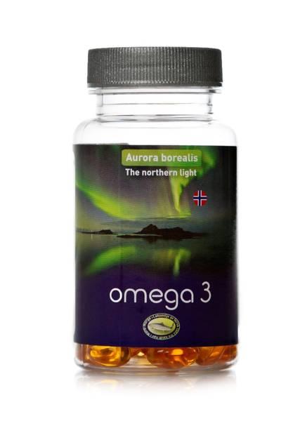 Bilde av Omega -3 (Nordnorsk laxolja)