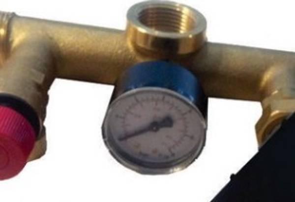 Bilde av Manometer 0-6 bar senter bak