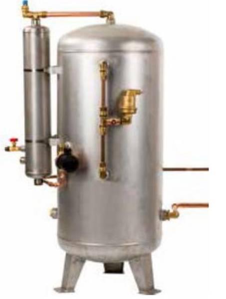 Bilde av Utlufter med 150 liter Hydrofortank Rustfri HPL Hydropress