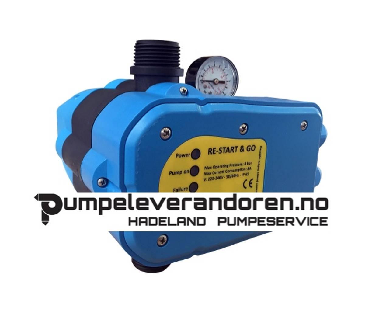 Start - stopp vanningspumper