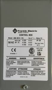 Bilde av Control box 0,55kW Grå box