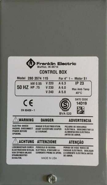 Bilde av Control box 1,1kW Grå box kondensator franklin