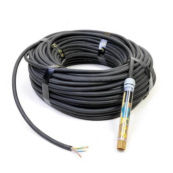 Bilde av EL-Kabel 10m - 1 fas sort