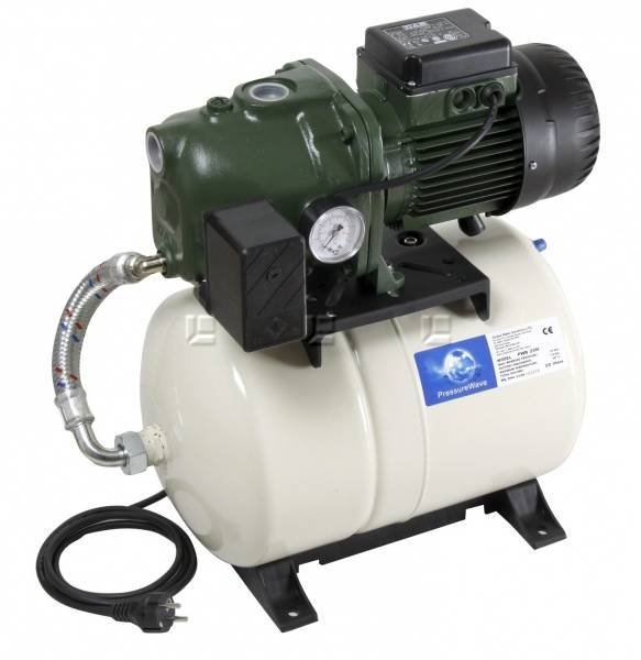 Vannpumpe 6 bar  20 liter Aquajet 112 M-G