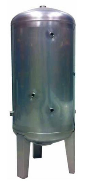 Bilde av Trykktank 150 liter i rustfritt stål