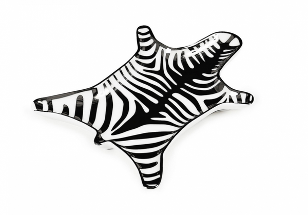 Zebra Stacking Fat - sort/hvitt