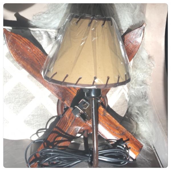 Vegglampe - ski