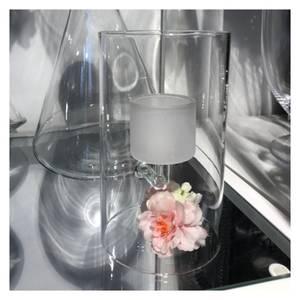 Bilde av Telyslykt Glass - Frostet