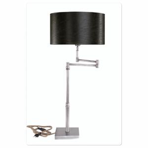Bilde av Bordlampe Pewter Swing stål -