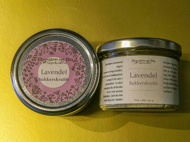 Bilde av Lavendel Adzuki Sukkerskrubb