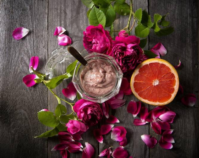 Bilde av Rose Hibiskus Sukkerskrubb